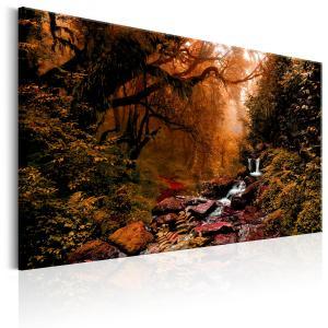 Ljuddämpande & ljudabsorberande tavla - Autumn Waterfall - SilentSwede