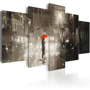 Ljuddämpande tavla - Rain City - SilentSwede