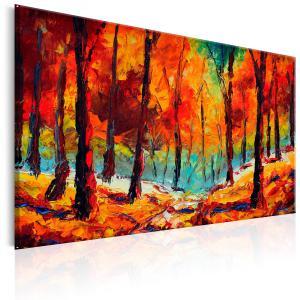 Ljuddämpande & ljudabsorberande tavla - Artistic Autumn - SilentSwede