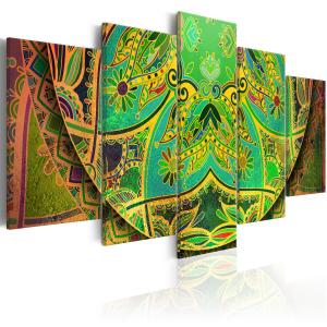 Ljuddämpande tavla - Mandala: Green Energy - SilentSwede