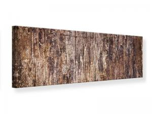 Ljudabsorberande panorama tavla - Retro Wood - SilentSwede