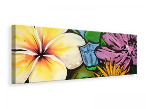 Ljuddämpande tavla - Graffiti Flowers - SilentSwede