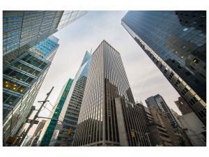 Ljudabsorberande tavla - Skyscrapers - SilentSwede