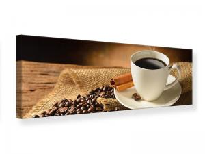 Ljudabsorberande panorama tavla - Coffee Break - SilentSwede