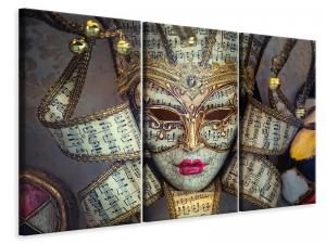 Ljuddämpande tavla - Venetian Mask - SilentSwede