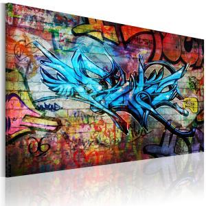 Ljuddämpande & ljudabsorberande tavla - Anonymous graffiti - SilentSwede