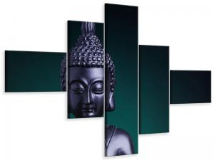 Ljudabsorberande 5 delad tavla-The Wisdom Of The Buddha - SilentSwede