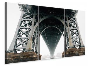 Ljuddämpande tavla - Bridge in the fog - SilentSwede
