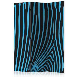 Rumsavdelare - Zebra pattern (turquoise) - SilentSwede