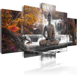 Ljuddämpande tavla - Autumn Buddha - SilentSwede
