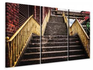 Ljuddämpande tavla - Factory stairs - SilentSwede