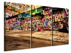 Ljuddämpande tavla - Graffiti NY - SilentSwede