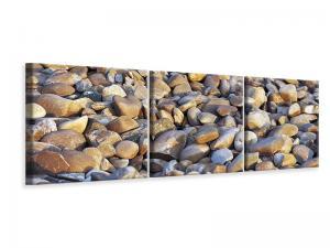 Ljuddämpande tavla - Beach Stones ii - SilentSwede