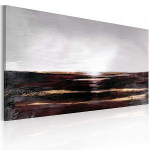 Ljuddämpande handmålad tavla - Avlägsen horisont - SilentSwede