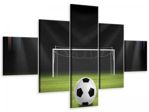 Ljudabsorberande 5 delad tavla - Soccer-Goal - SilentSwede