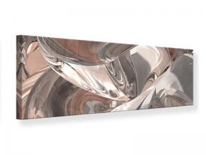 Ljudabsorberande panorama tavla - Abstract Glass Tiles - SilentSwede