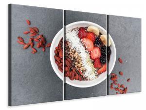 Ljuddämpande tavla - Breakfast with fruits - SilentSwede