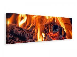 Ljuddämpande tavla - Campfire - SilentSwede