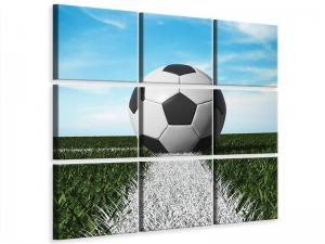 Ljudabsorberande 9 delad tavla - Soccer - SilentSwede