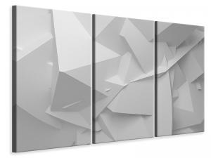 Ljuddämpande tavla - 3D Grid - SilentSwede