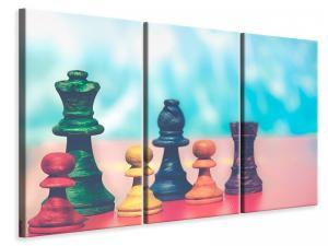 Ljuddämpande tavla - Colorful chess - SilentSwede