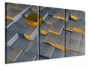 Ljuddämpande tavla - Cube I - SilentSwede