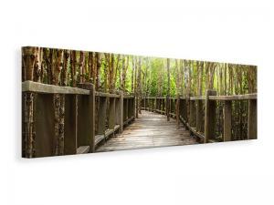 Ljuddämpande tavla - Wooden Bridge - SilentSwede