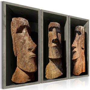 Ljuddämpande tavla - Moai (Easter Island) - SilentSwede