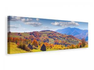 Ljuddämpande tavla - Autumnal Mountain Landscape - SilentSwede