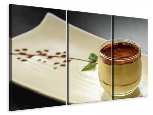 Ljuddämpande tavla - Dessert tiramisu - SilentSwede