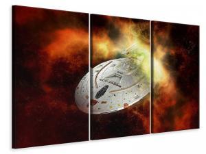 Ljuddämpande tavla - Ufo in space - SilentSwede