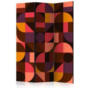 Rumsavdelare - Geometric Mosaic (Red) - SilentSwede