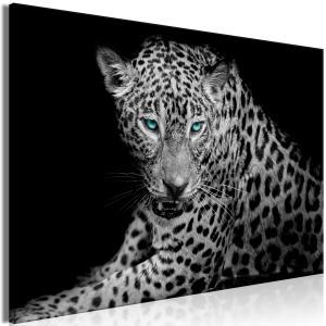 Ljuddämpande & ljudabsorberande tavla - Leopard Portrait - SilentSwede