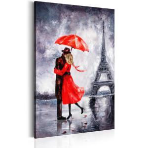 Ljuddämpande & ljudabsorberande tavla - Love in Paris - SilentSwede