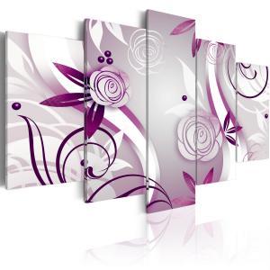 Ljuddämpande tavla - Violet roses - SilentSwede