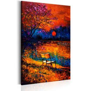 Ljuddämpande & ljudabsorberande tavla - Colours of Autumn - SilentSwede