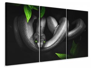 Ljuddämpande tavla - Attention snake - SilentSwede