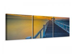 Ljuddämpande tavla - A Wooden Bridge In The Far East - SilentSwede