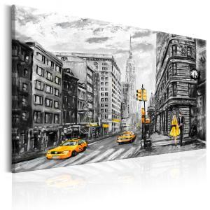 Ljuddämpande tavla - Walk in New York - SilentSwede