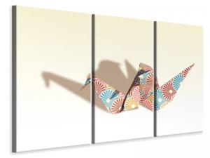Ljuddämpande tavla - Colorful origami - SilentSwede