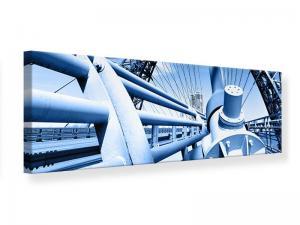 Ljudabsorberande panorama tavla - Avantgarde Suspension Bridge - SilentSwede