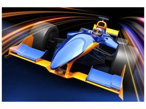 Ljudabsorberande tavla - Auto Racing - SilentSwede