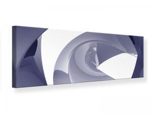Ljudabsorberande panorama tavla - Abstract Vibrations - SilentSwede