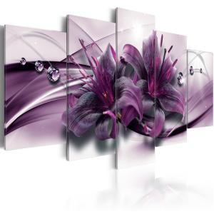 Ljuddämpande tavla - Violet Lily - SilentSwede