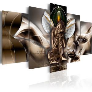 Ljuddämpande tavla - Winged Buddha - SilentSwede