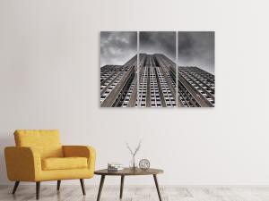 Ljuddämpande tavla - Empire state building II - SilentSwede
