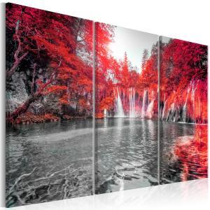 Ljuddämpande tavla - Waterfalls of Ruby Forest - SilentSwede