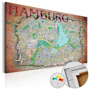 Ljuddämpande anslagstavla - Hamburg - SilentSwede