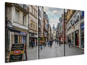 Ljuddämpande tavla - A shopping street - SilentSwede
