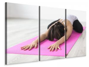 Ljuddämpande tavla - Yoga exercise - SilentSwede
